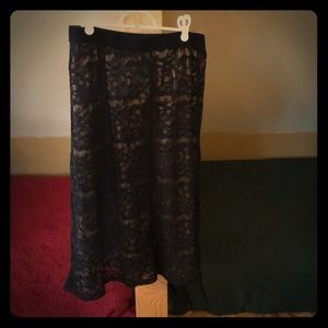 Lace skirt- never been worn!